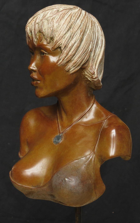 "Mes premières ""vraies ""sculptures ... Helena-3"